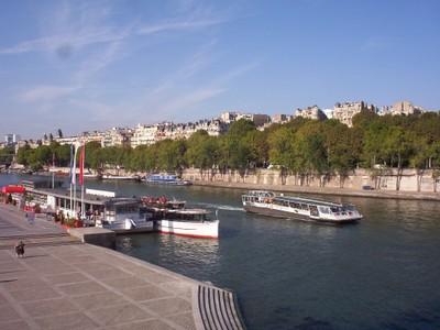 PARIS  FRANCE.  --   River  Seine.