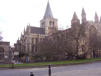 ROCHESTER,  KENT,  UK  -- Cathedral.
