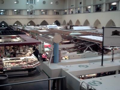 MUNICH,  GERMANY  ,  --  Indoor  market.