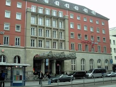 MUNICH,  GERMANY ,   I stayed  at  this  hotel  near  railway  station.