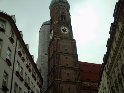 MUNICH  GERMANY.  Cathedral  of  our Dear  Lady,
