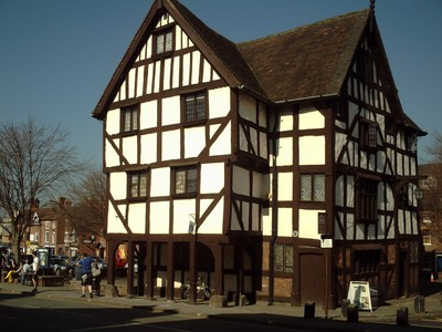 SHREWSBURY,  ENGLAND.  ---  The county town  of  Shropshire.