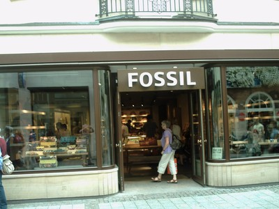 MUNSTER,  GERMANY. This shop in Ludgeristase, sells  Watches  and  Leather Goods.