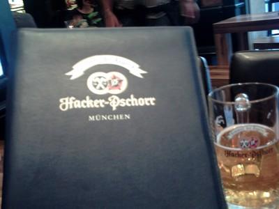 MUNICH,  GERMANY.  -  Menu.