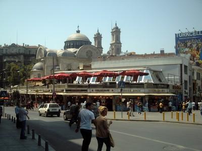 ISTANBUL  TURKEY.    Takism  Square.