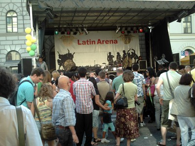 MUNICH,  GERMANY.  --  Open air  entertainment.