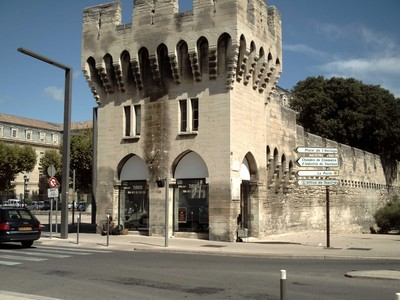 AVIGNON  FRANCE.    Recycling  of  old  tower.