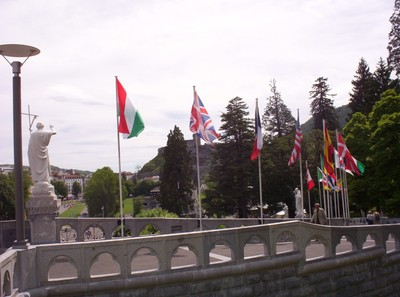 FRANCE  LOURDES.----Pilgrims and Tourists from all around the World.