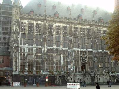 AACHEN  GERMANY.   Rathaus.       Town Hall.