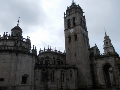 LUGO,   GALICIA   SPAIN.    Cathedral  of  St .Mary.--  Bell  Tower.
