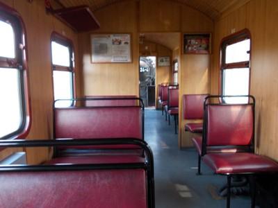On board Molli train.