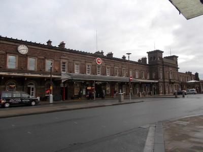 CHESTER Train Station.