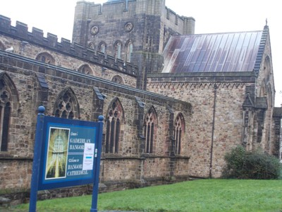 BANGOR WALES.  Bangor Cathedral of St. Deiniol.
