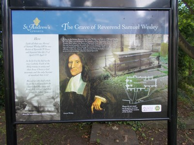 INFORMATION ON SAMUEL WESLEY