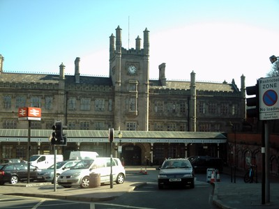 SHREWSBURY,  ENGLAND.   Railway  station.