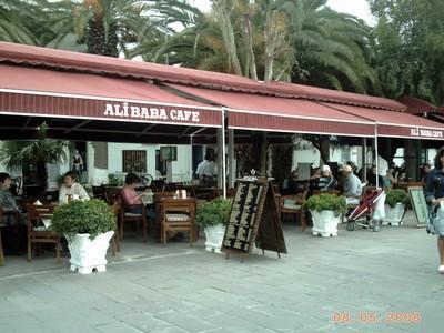 TURKEY  BODRUM.   Alibaba  Cafe.    Good Food.