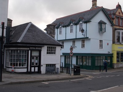 MACHYNLLETH  WALES.  Royal House,  a mediaeval building.