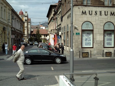 SARAJEVO.  War  Museum, opposite  Latin  bridge.