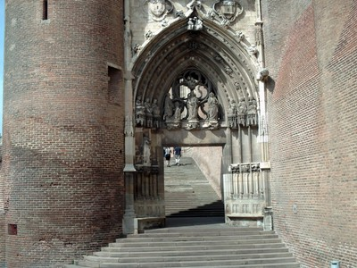 ALBI,  FRANCE.  --   Cathedral  Portal.