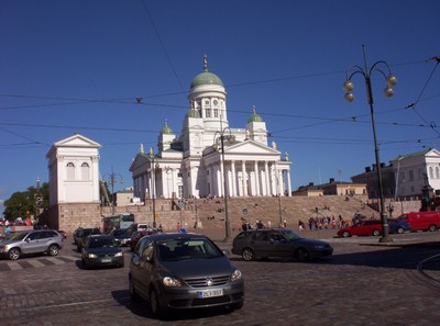 HELSINKI FINLAND.  Cathedral