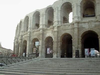 ARLES  FRANCE.  Amphiteatre  Roman  Arena.