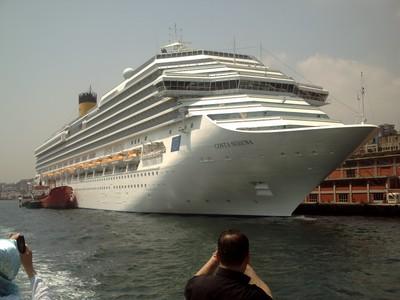 ISTANBUL  TURKEY.     Visting ship.