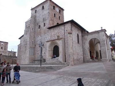 LLANES,  SPAIN. -- Iglesia de Santa Maria del Conceyu.