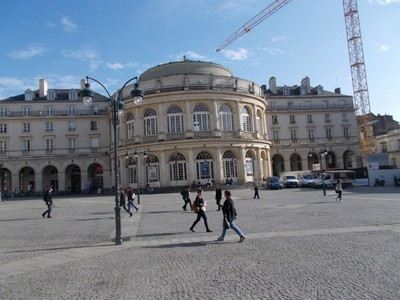 RENNES,  FRANCE  --- Opera House.