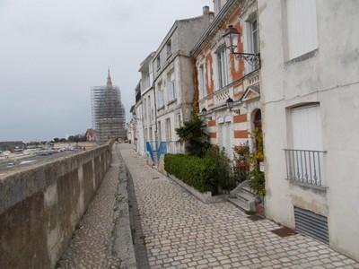 LA  ROCHELLE,  FRANCE.   Walk on wall to Lantern tower.