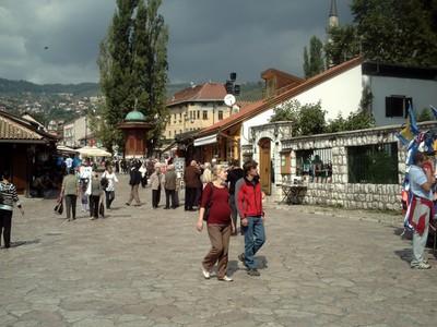 SARAJEVO.   Old  town.