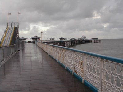 LLANDUDNO WALES. Pier.