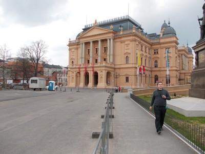 SCHWERIN  GERMANY.   Mecklenburg State Theatre.