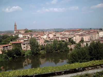 ALBI  FRANCE,    River  Tarn.