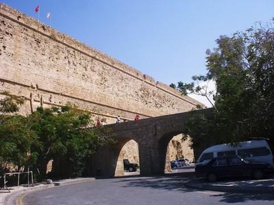 CYPRUS  KYRENIA   Castle  entrance.