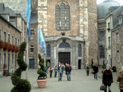AACHEN  GERMANY.  Cathedral,  oldest in Northern Europe.