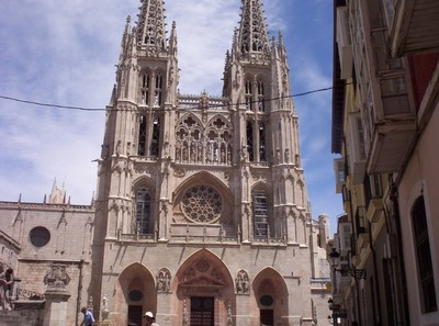 SPAIN  BURGOS.  Cathedral of Santa Maria.