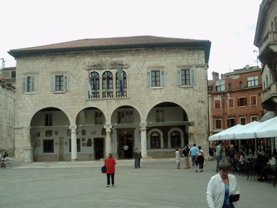 PULA  CROATIA.  Town  Hall  from 1296.