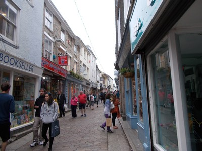 ST.IVES CORNWALL.  Fore street.