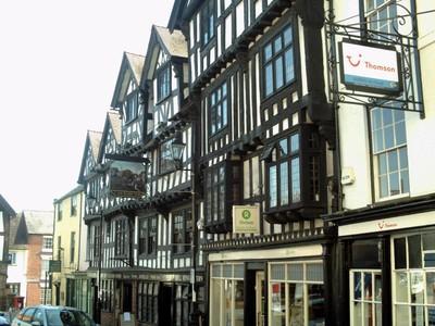 LUDLOW,  ENGLAND.  --  Ye  Olde Bullring  Tavern.