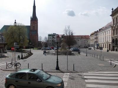 SZCZECIN  POLAND.      CATHEDRAL .. Roman Catholic.