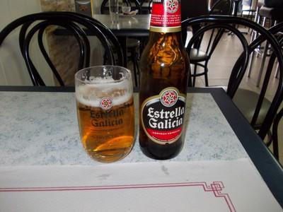 A.CORUNA   GALICIA  SPAIN.----Local  beer.