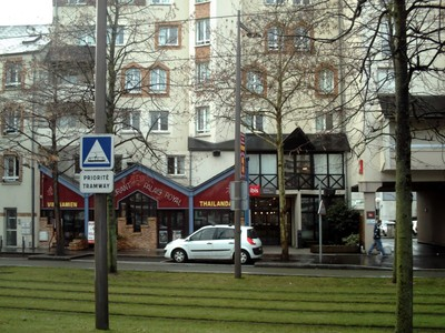 ORLEANS,  FRANCE..Ibis.Hotel. i stayed here two nights.  --Opposite rail  station.