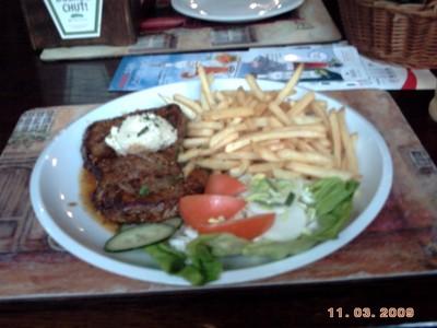 CZECH  BRNO.   ..Meal in  Brno.