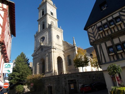 VANNES,, FRANCE.   Church of St. Paterns