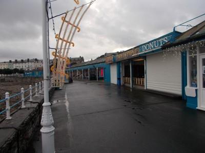 LLANDUDNO WALES.  Pier in early December.
