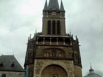 AACHEN  GERMANY.   Cathedral,  Roman Catholic.
