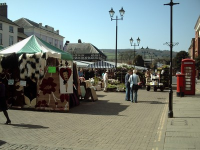 LUDLOW,  ENGLAND.  --Open  Air   Market.   --    Monday, Wednesday,Friday and  Saturday.