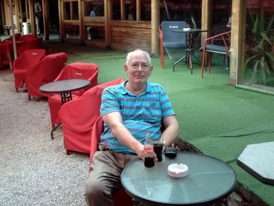 SARAJEVO.   Morica Han  historic  place,  now cafes.