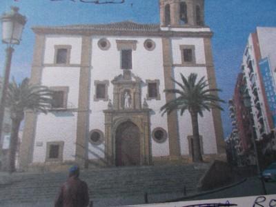 RONDA,  SPAIN.   --  Iglesia de Nuestra Senora de la Merced.