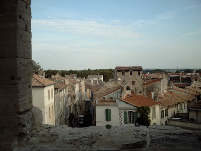 ARLES  FRANCE.    --  View from  wall of  Arena.